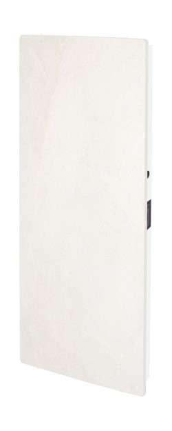 Elektromos kerámia hőtárolós fűtőpanel - Climastar Smart álló fehér mészkő 1000 W