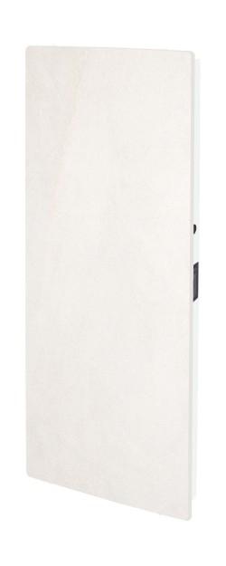 Elektromos kerámia hőtárolós fűtőpanel - Climastar Smart Touch álló fehér mészkő 1000 W